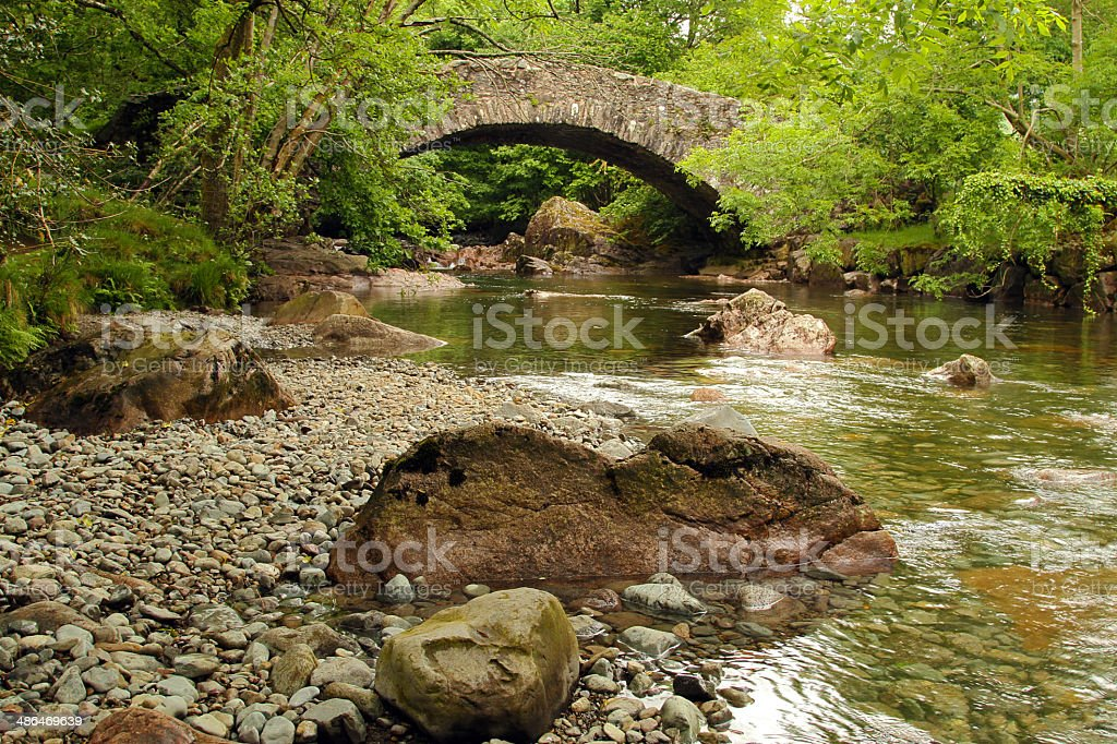 Lake District Beauty - Royalty-free Boulder - Rock Stock Photo