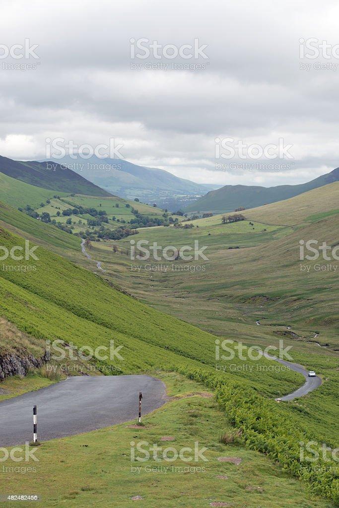 Lake District Motoring stock photo