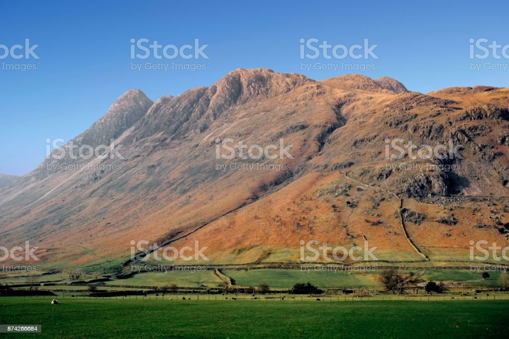 Lake District national park uk stock photo