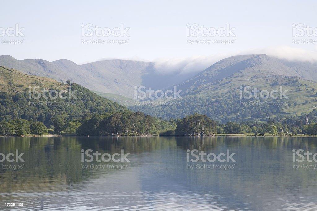 Lake District views royalty-free stock photo