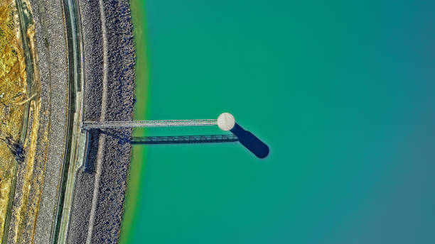 Lake Eppalock Aerial stock photo