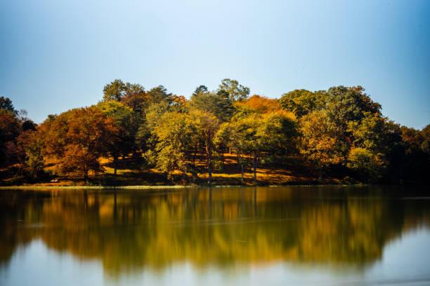 Lake Fairfax im Herbst – Foto