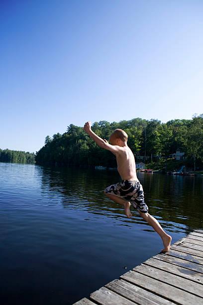 Lake Fun stock photo