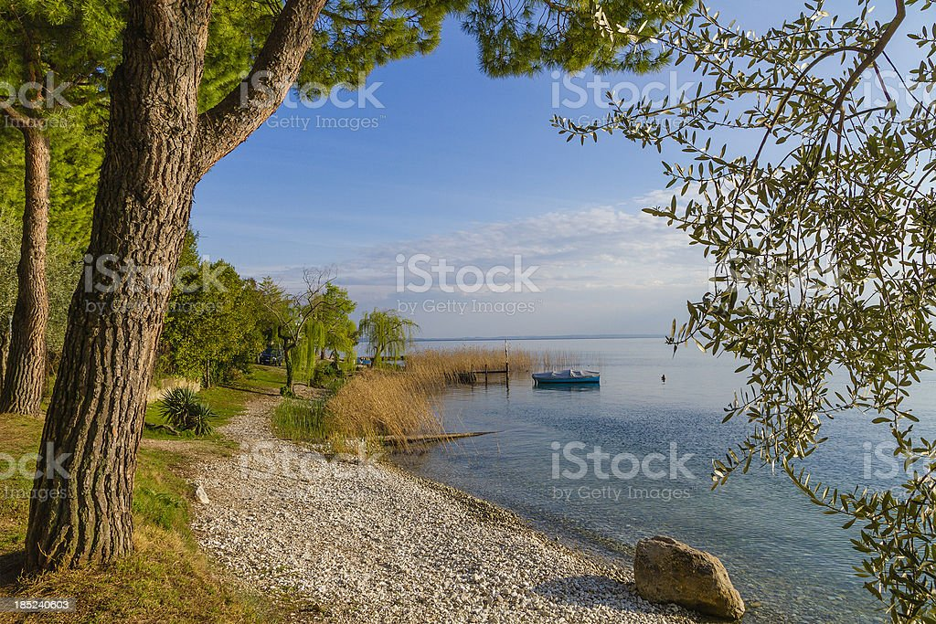 Lake Garda, Italy royalty-free stock photo