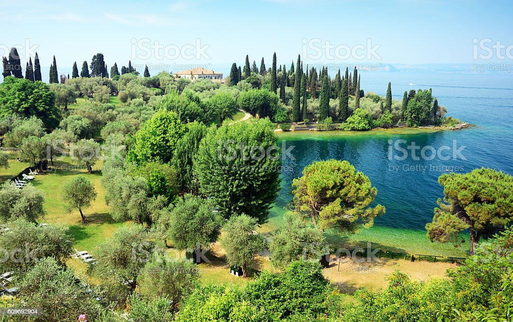 Lake Garda, Italy stock photo