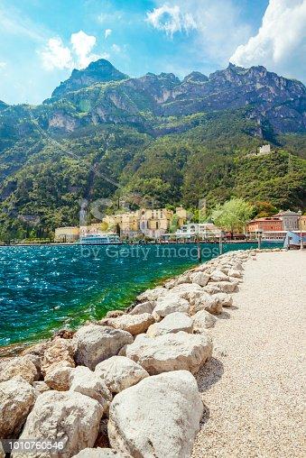 Riva del Garda, town on the Lake Garda coastline