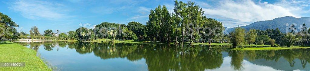 Lake garden Taiping, Perak stock photo