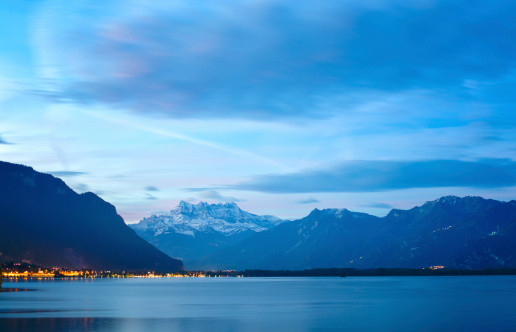 Lake Geneva at dawn