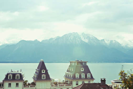 Lake Geneva, Lausanne, Switzerland