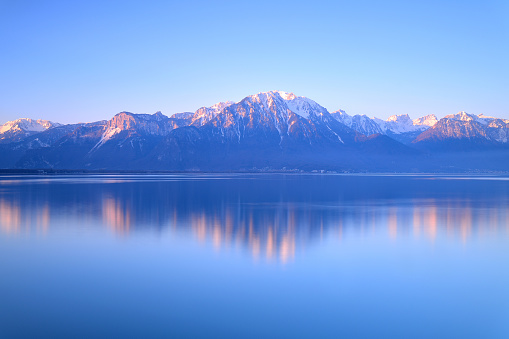 Lake Geneva of Montreux