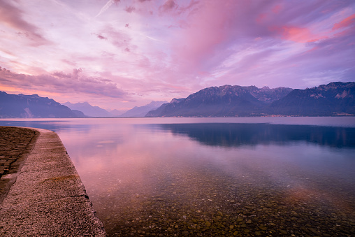Lake Geneva Sunrise
