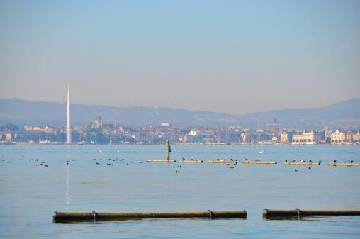 Lake Geneva,Switzerland