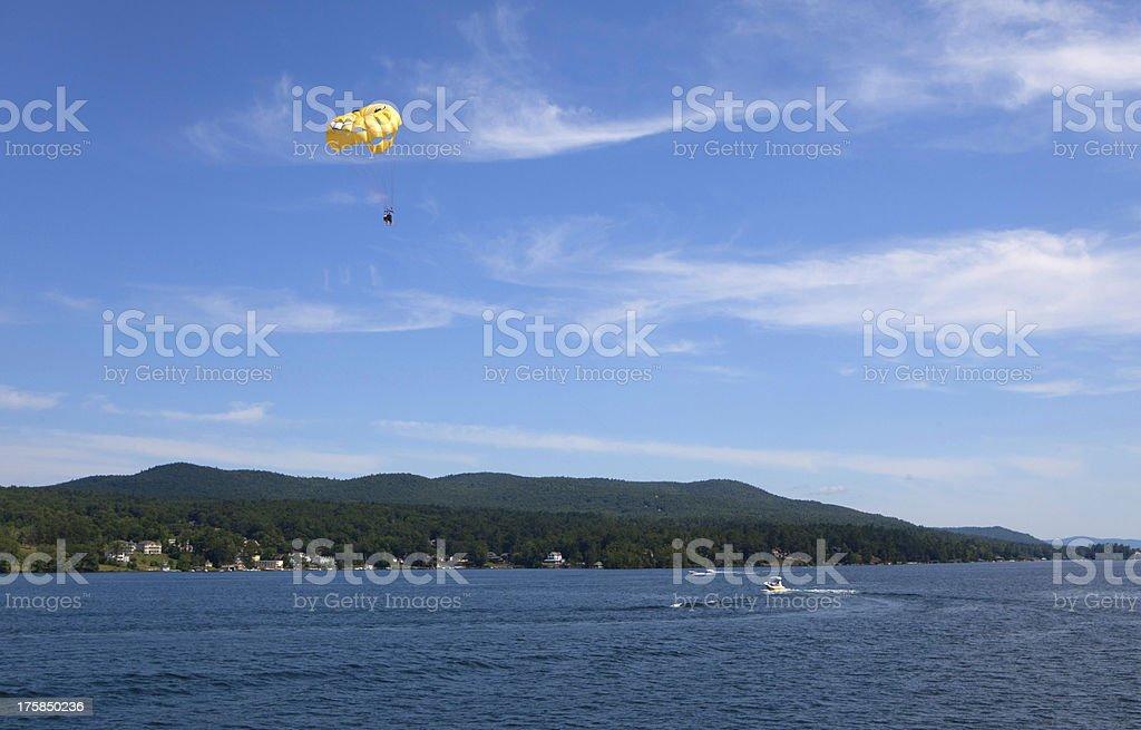 Lake George, New York. stock photo