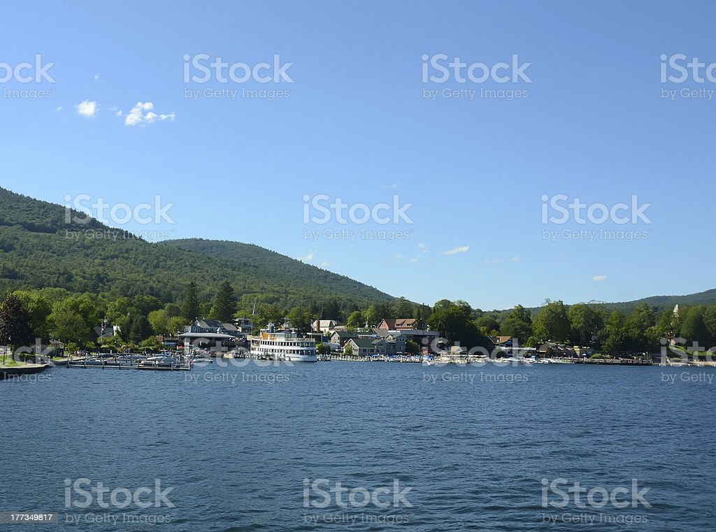 Lake George, New York State stock photo