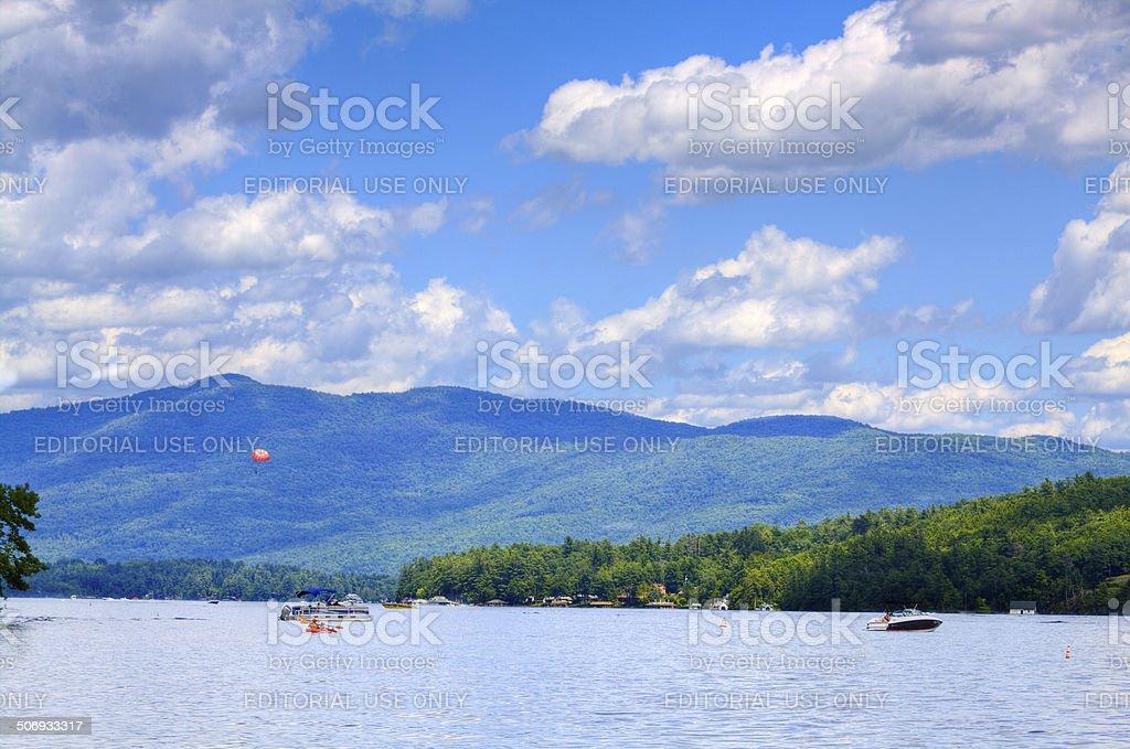 Lake George, NY. stock photo