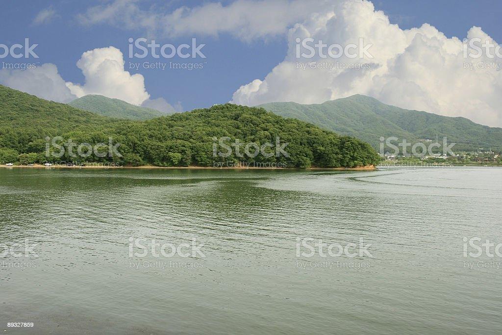 Lake Gwacheon II stock photo