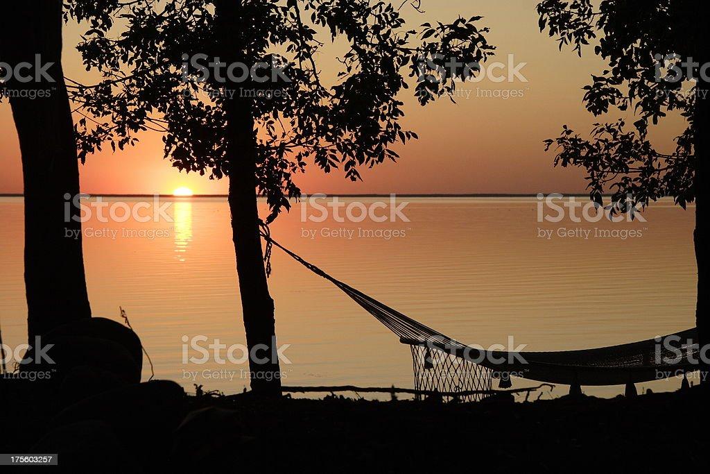 Lake Hammock royalty-free stock photo