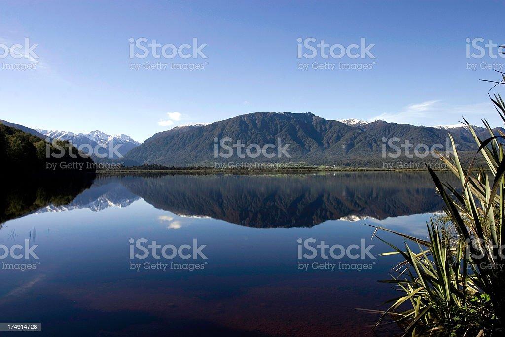 Lake Haupiri royalty-free stock photo
