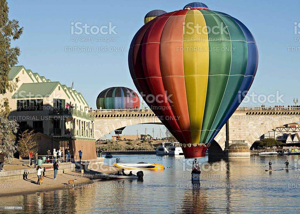 Lake Havasu Balloon Fest royalty-free stock photo