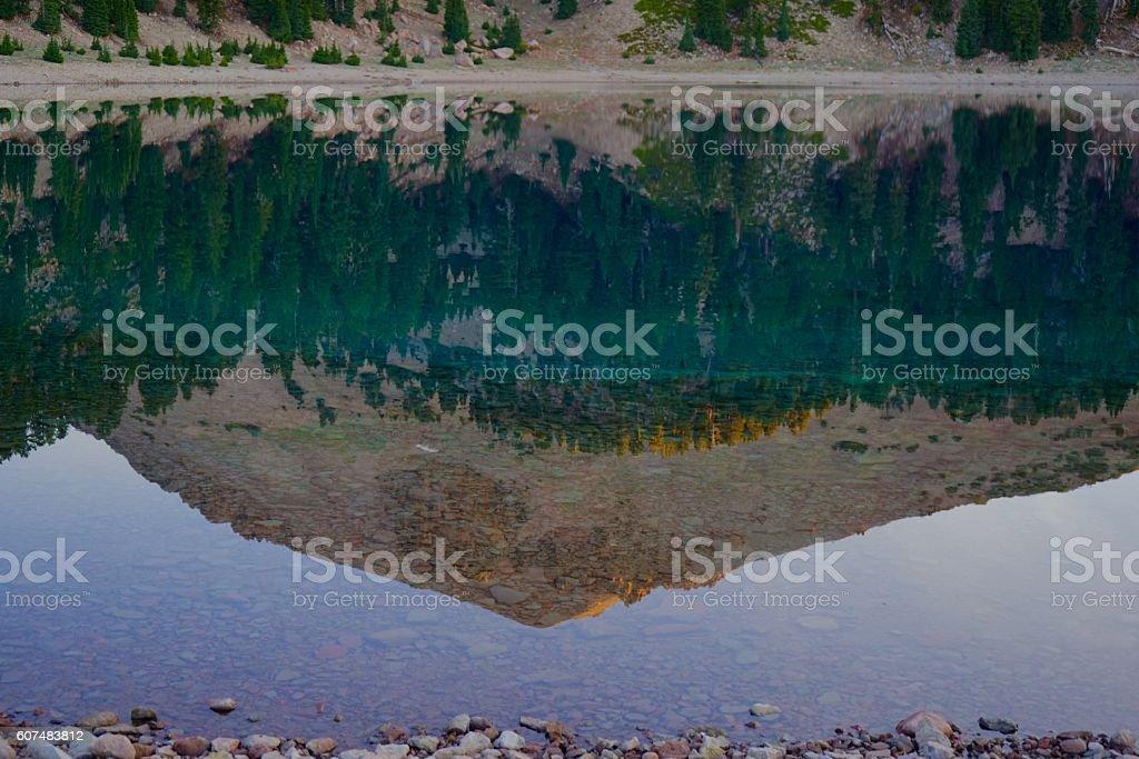 Lake Helen stock photo