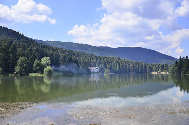 Lago house - foto de stock