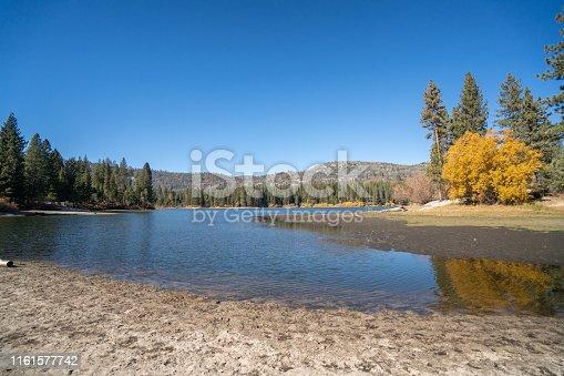 Lake in Autumn, Sequoia national park, USA