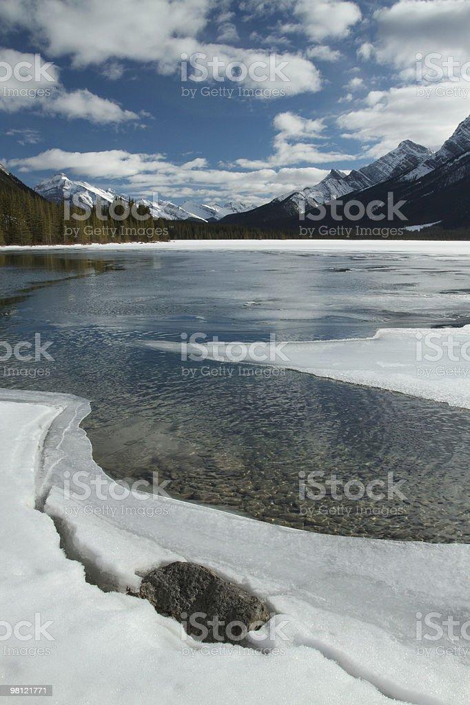 Lake in Kananaskis royalty-free stock photo