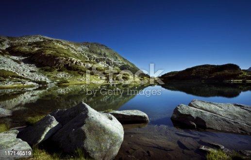 Lake in Pirin mountains. Bulgaria.