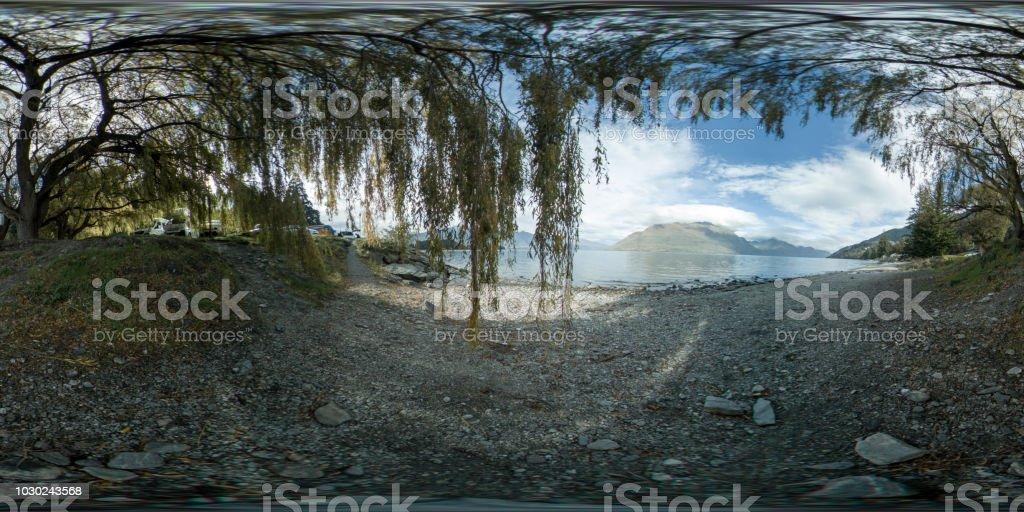 360 VR 8K See in Neuseeland – Foto