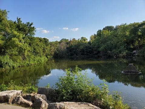 Lake in Plano Park