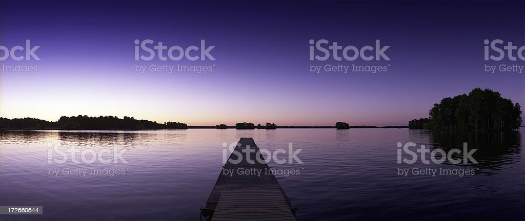 Lake in Sweden royalty-free stock photo