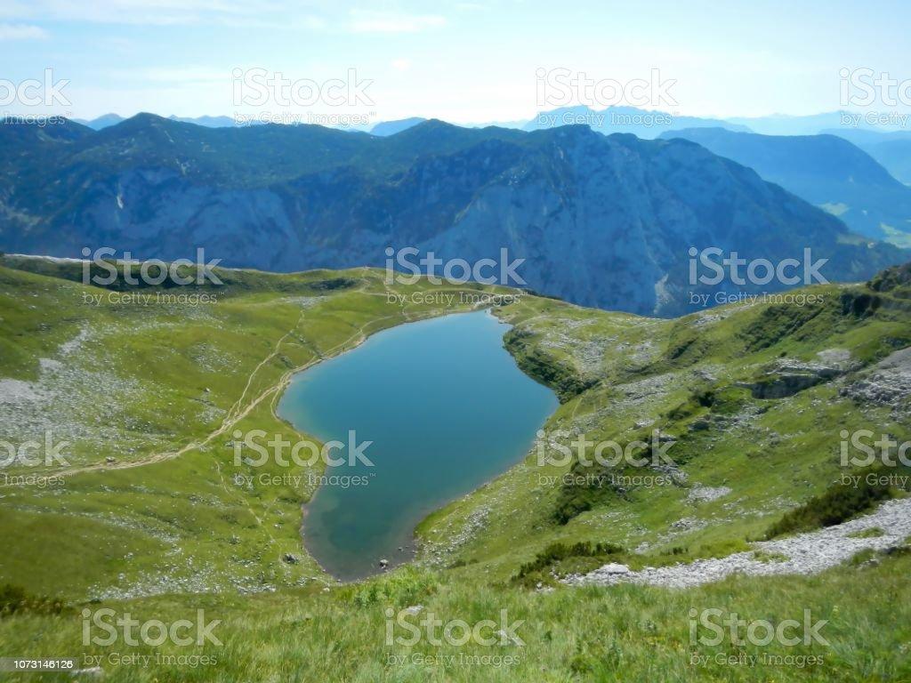 See in den Alpen, Augstsee, Loser, Österreich im Sommer – Foto