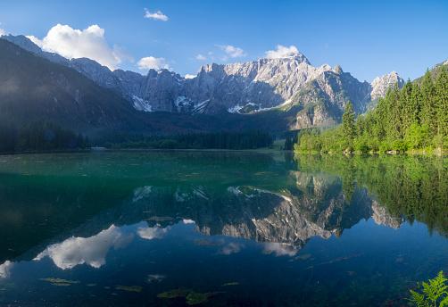 lake in the Alps, Laghi di fusine