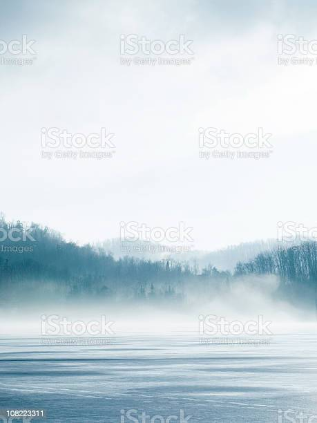 Photo of Lake In Winter