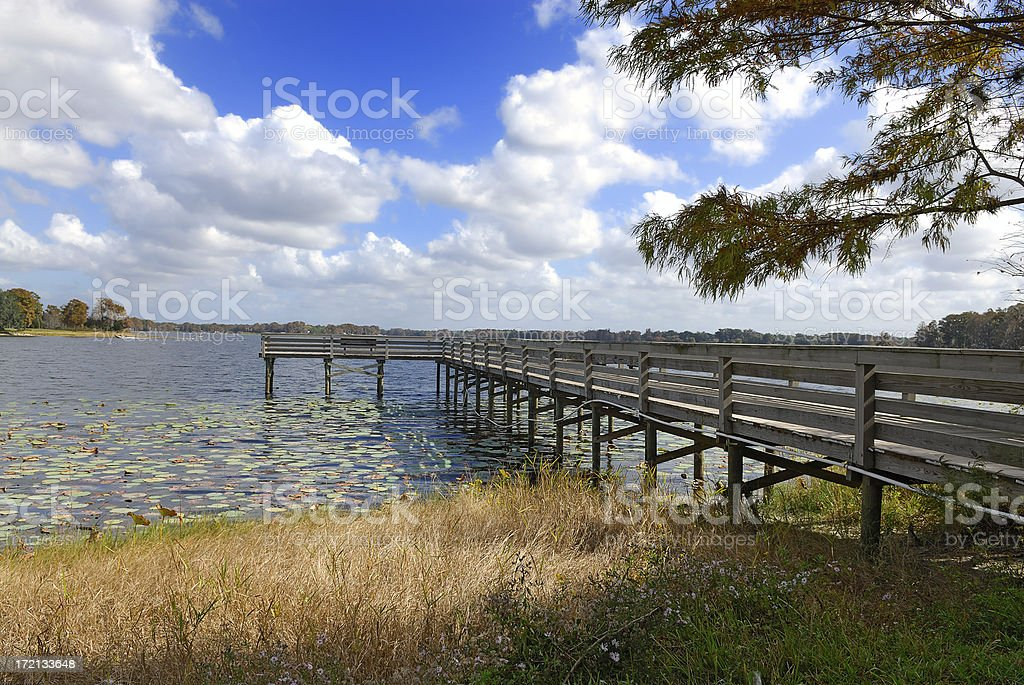lake inverness royalty-free stock photo