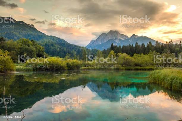 Photo of Lake inZelenci Springs,UpperCarniola,Slovenia