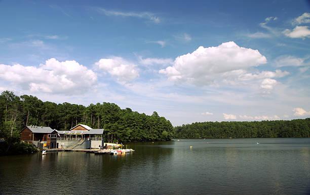 Lake Johnson stock photo
