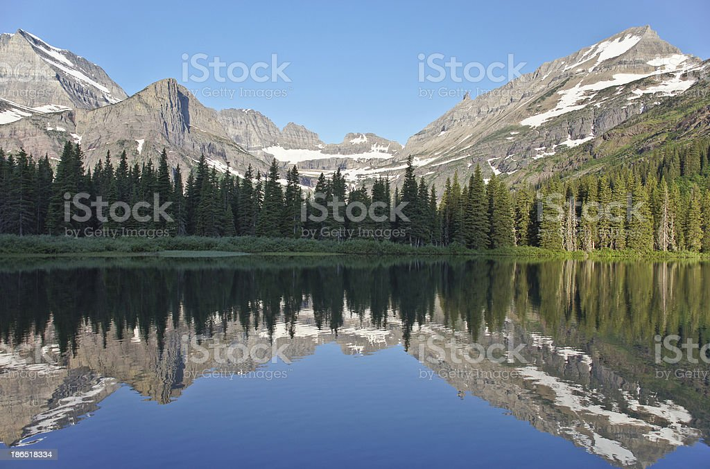 Lake Josephine royalty-free stock photo