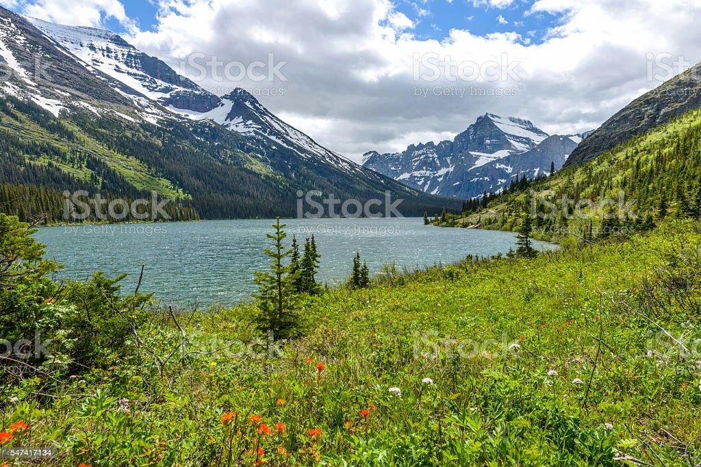 Lake Josephine stock photo