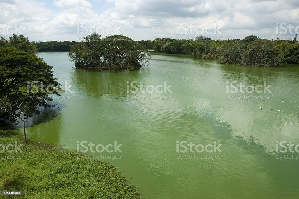 Lake Karanji royalty-free stock photo