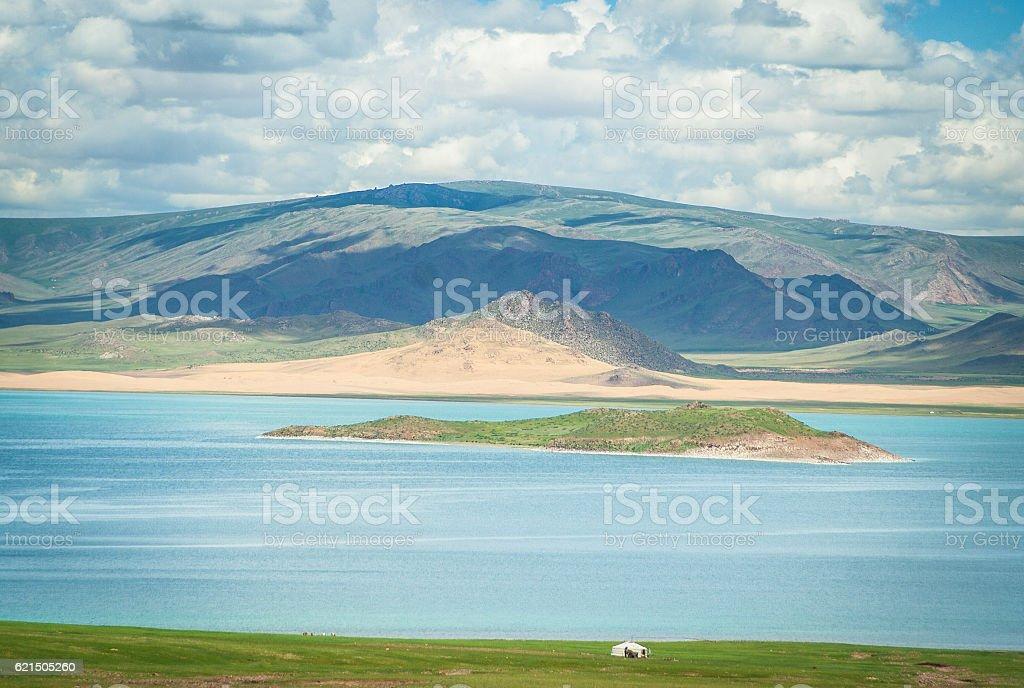 Lake 'Khar' foto stock royalty-free