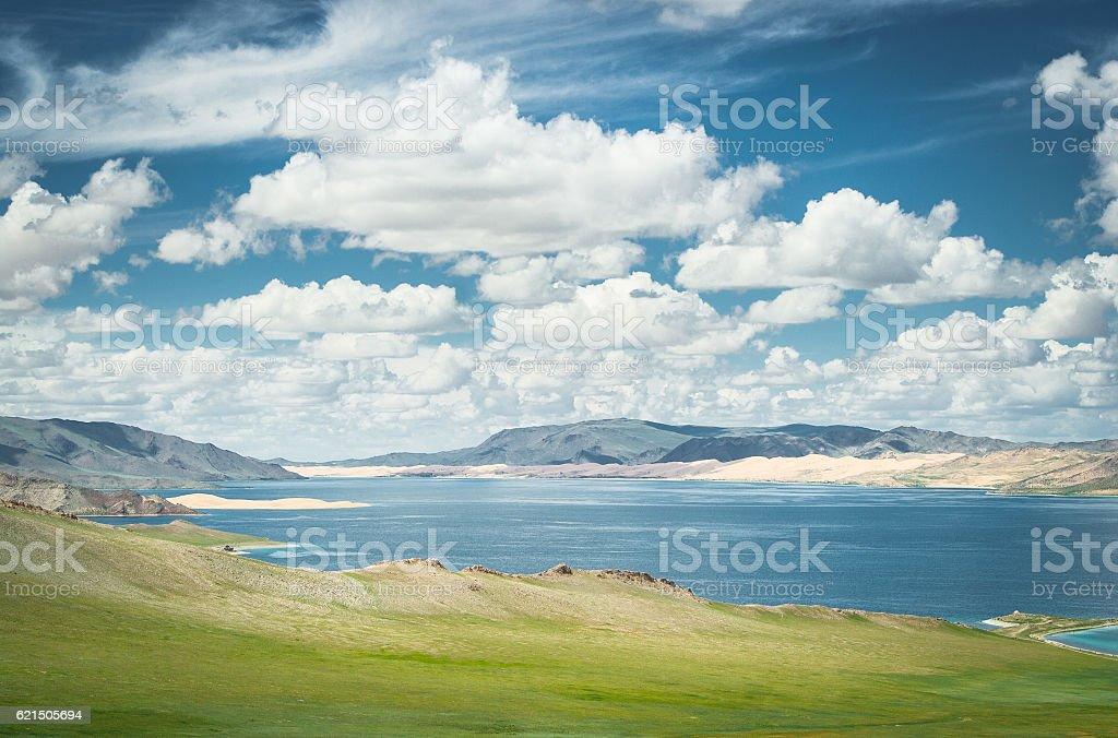 Lake 'Khar' Lizenzfreies stock-foto