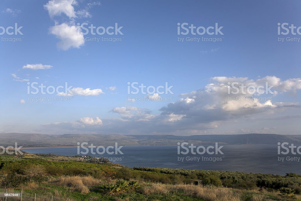 Lake Kineret. royalty-free stock photo