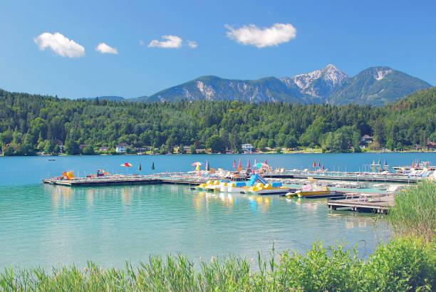 Lake Klopeiner See, nämlich Kärnten, Österreich – Foto