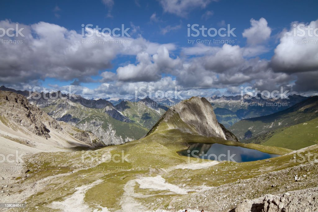 lake Kogelsee stock photo