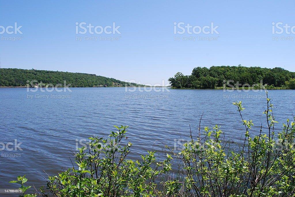 Lake Landscape royalty-free stock photo