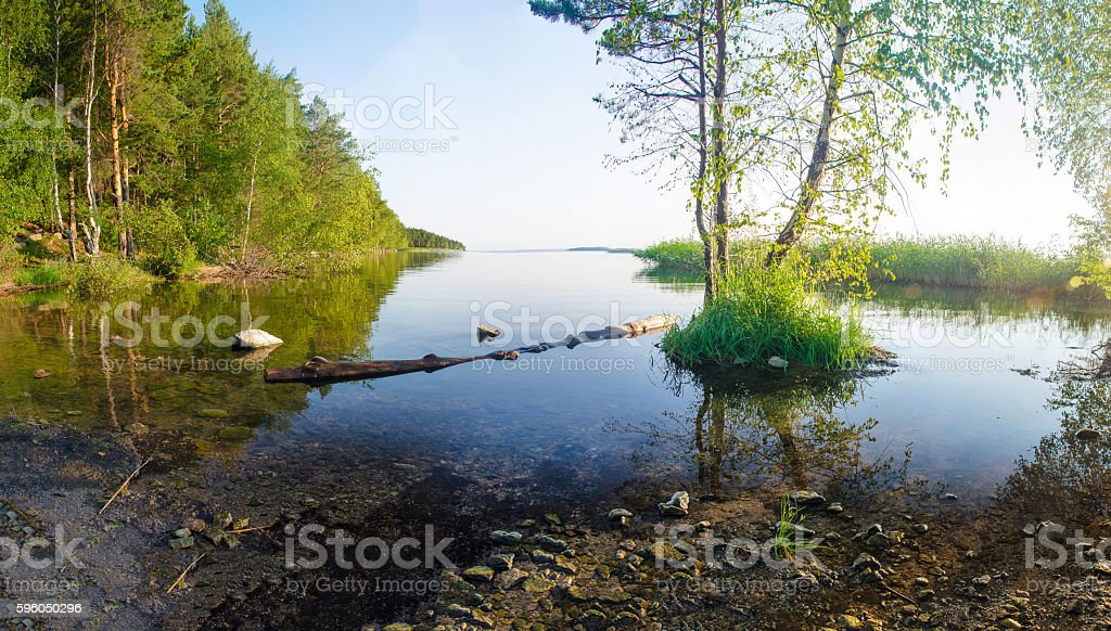 lake landscape royalty-free stock photo