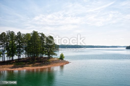 Lake Lanier in Georgia, USA.
