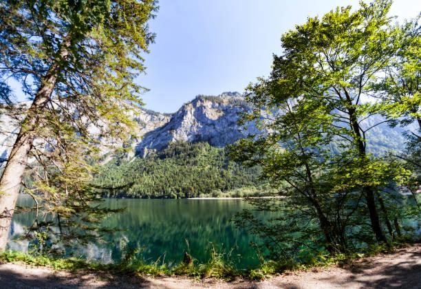 Leopoldsteiner See in der Nähe von Eisenerz in der Steiermark, Österreich – Foto