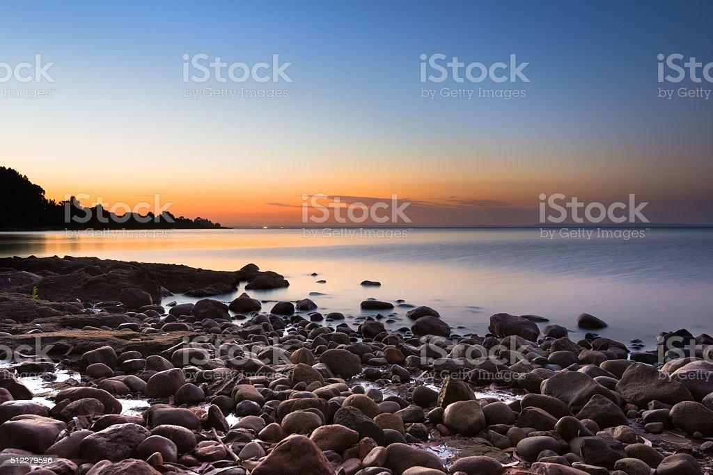Lake LLanquihue stock photo